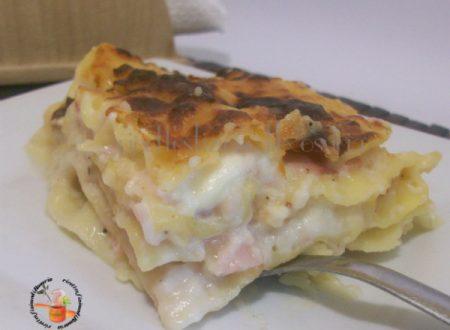 Lasagne con prosciutto cotto e stracchino – ricetta primo