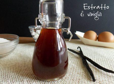 Estratto di vaniglia – ricetta aroma per dolci fatto in casa