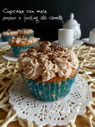 cupcake con mele