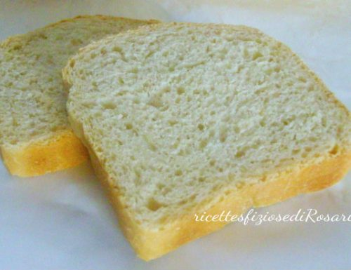 Pan bauletto con lievito madre