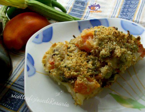 Pizza di verdure con pancarré – ricetta veloce e gustosa
