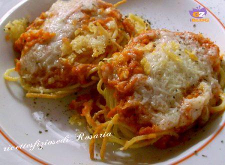 Spaghetti fritti all'amatriciana – ricetta gustosa