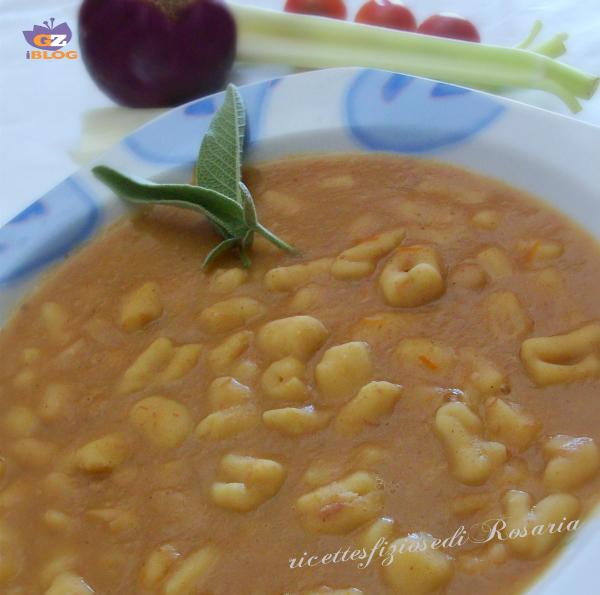minestra con fagioli