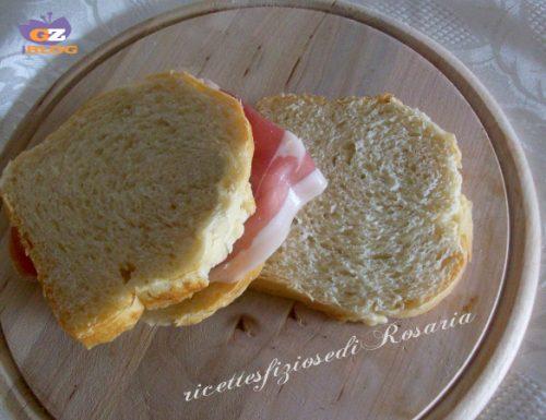 Pane in cassetta con lievito madre