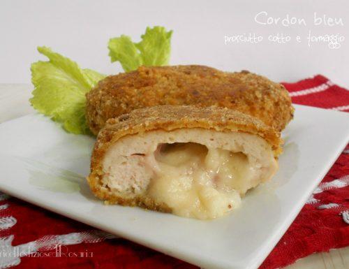 Cordon bleu prosciutto cotto e formaggio