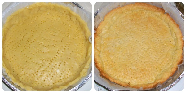 crostata con ganache