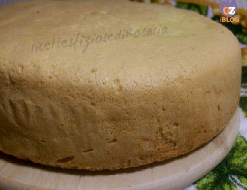 Pan di spagna salato – ricetta base