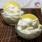 crema chantilly ananas