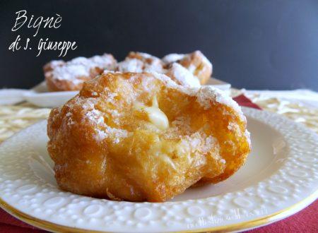Bignè di San Giuseppe – dolce fritto
