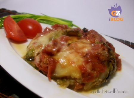 Zucchine rotonde alla parmigiana – ricetta leggera