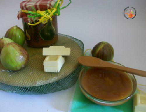 Crema di fichi al cioccolato bianco – ricetta crema spalmabile