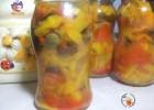 Antipasto di peperoni sott'olio – ricetta conserve invernali