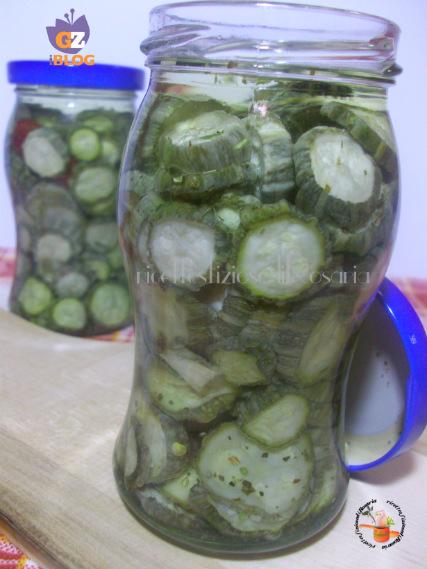 zucchine sott olio
