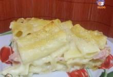 Pasticcio di rigatoni al forno in bianco – ricetta primo leggero