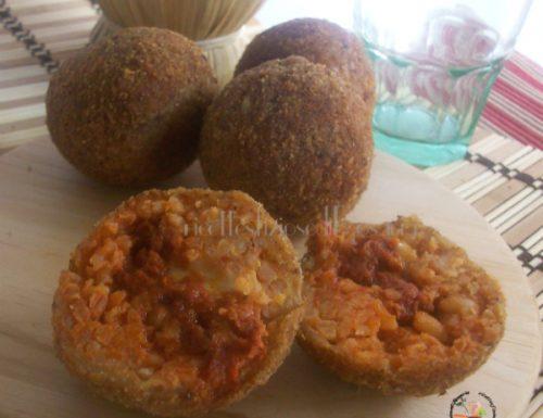 Palline di riso con 'nduja – ricetta sfiziosa