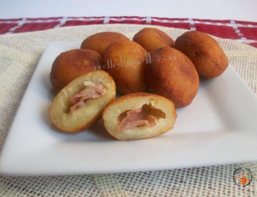 Bombette di patate ripiene