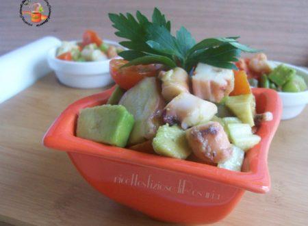 Insalata di polpo e avocado - ricetta con pesce surgelato