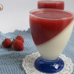 bicchieri con fragole