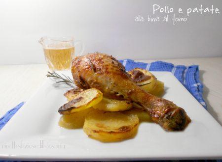 Pollo e patate alla birra al forno