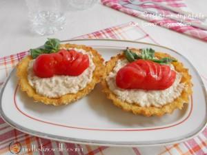 crostatine di patate con tonno