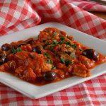 filetti di merluzzo al pomodoro