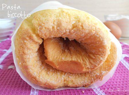 Pasta biscotto (pasta biscuit) – base per rotoli e tronchetti