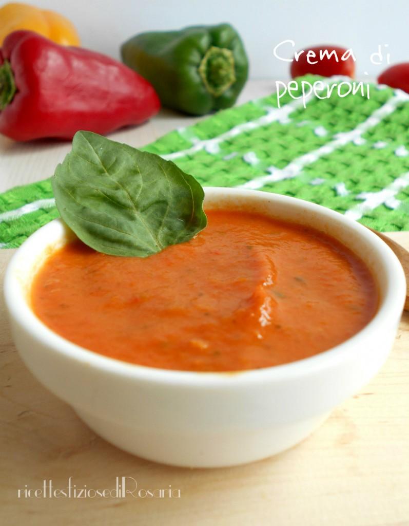 Crema di peperoni ricetta condimento per pasta for Cucinare x diabetici