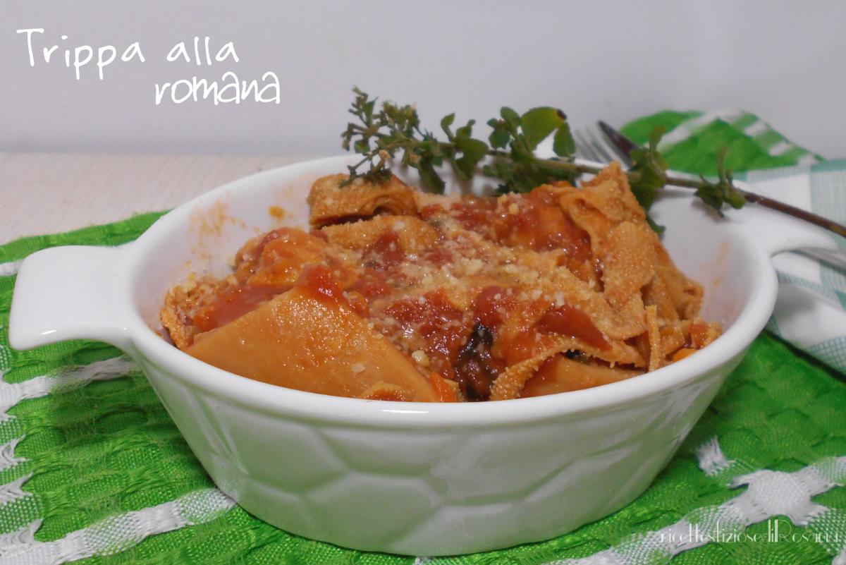 Trippa alla romana - ricetta della mamma