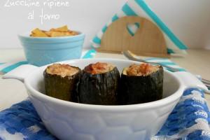 Zucchine ripiene al forno con patate – ricetta piatto unico