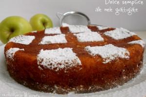 Dolce semplice alle mele in soli 5 minuti – ricetta senza impasto