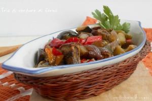 Tris di verdure al forno – ricetta contorno saporito
