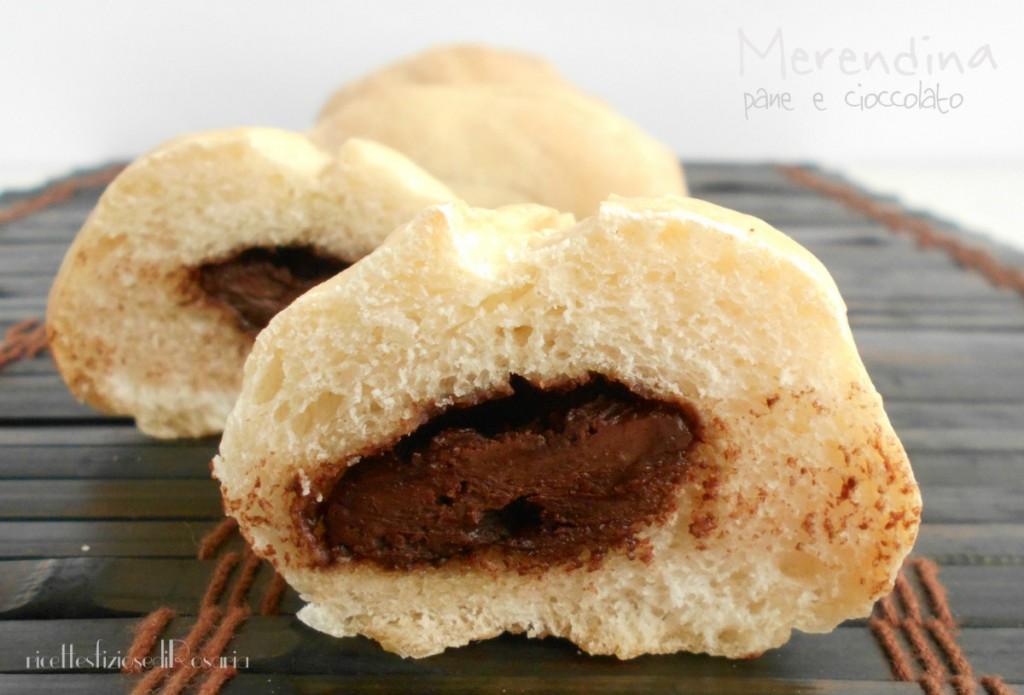 merendina pane e cioccolato