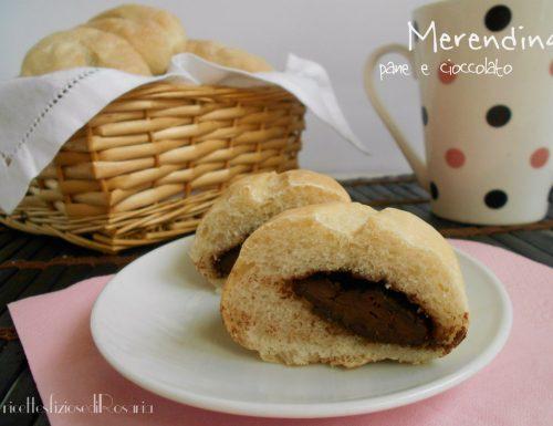 Merendina pane e cioccolato – senza uova, latte e zucchero