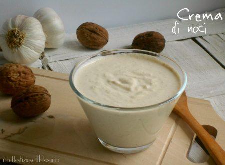 Crema di noci – ricetta condimento per pasta