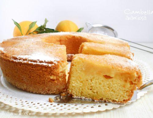 Ciambella aranciosa – dolce con crema all'arancio senza latte