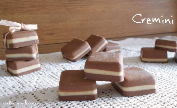 Cremini cioccolatini bicolore fatti in casa - Profumatori ambiente fatti in casa ...