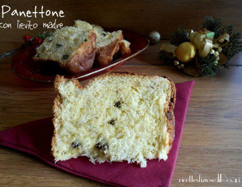 Panettone con lievito madre – ricetta di R. Pignataro