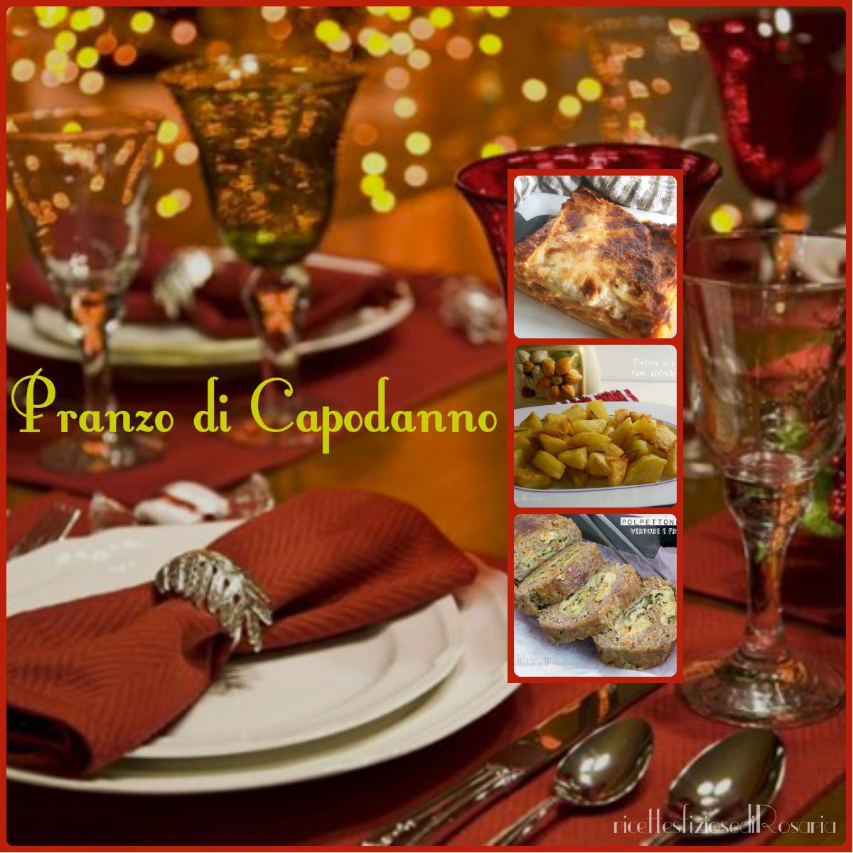 Pranzo di Capodanno - ricette semplici, veloci ed economiche
