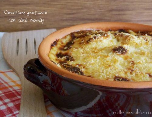 Cavolfiore gratinato con salsa mornay