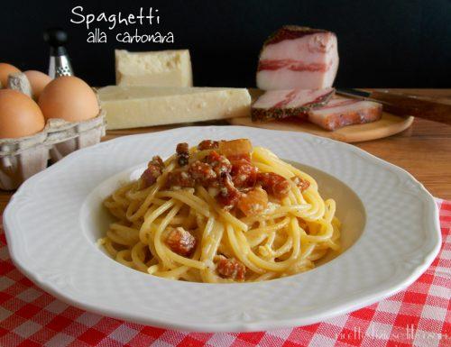 Spaghetti alla carbonara classici