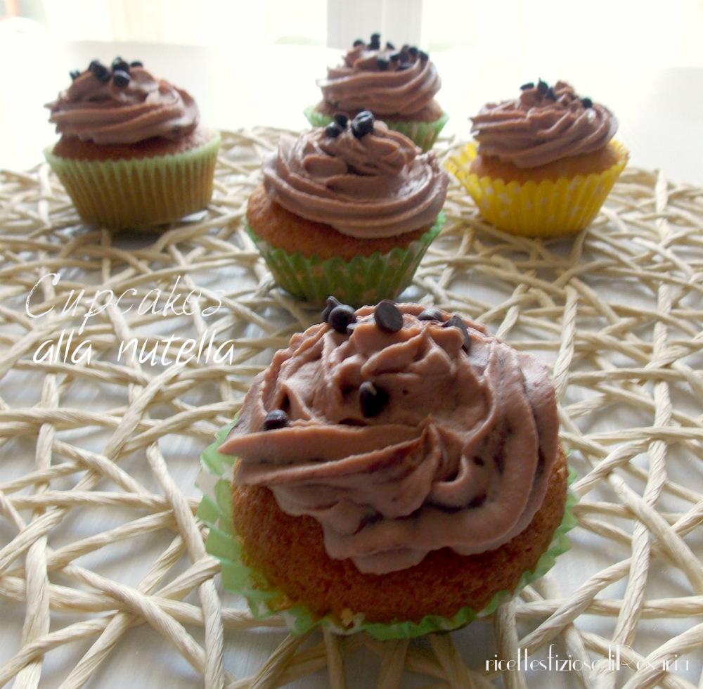Cupcakes alla Nutella - ricetta facile e veloce