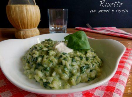 Risotto spinaci e ricotta