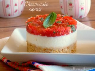 cheesecake caprese
