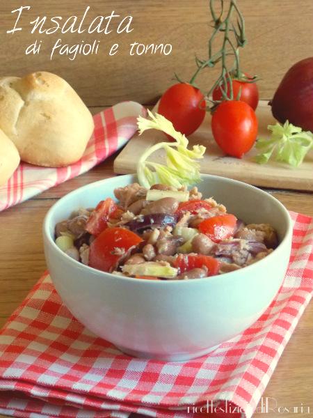 insalata fagioli tonno