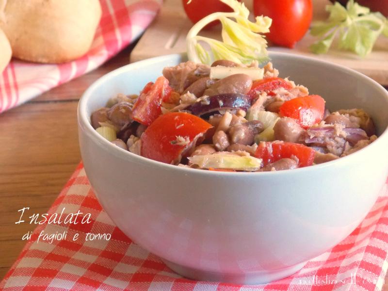 insalata fagioli