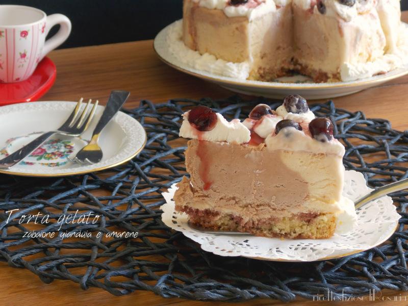 interno torta gelato