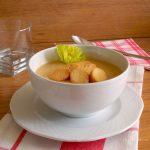 zuppa sedano rapa