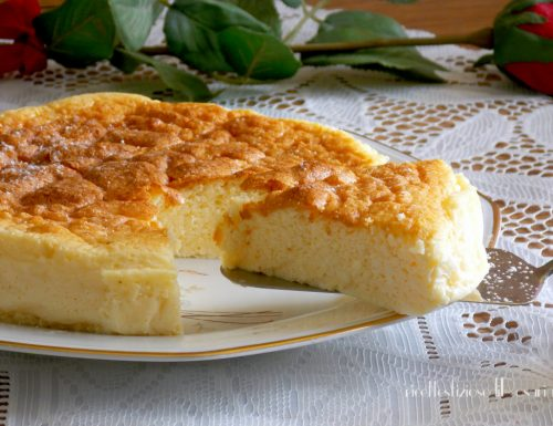 Cheesecake giapponese – Cotton cake