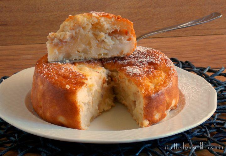 interno torta con pere