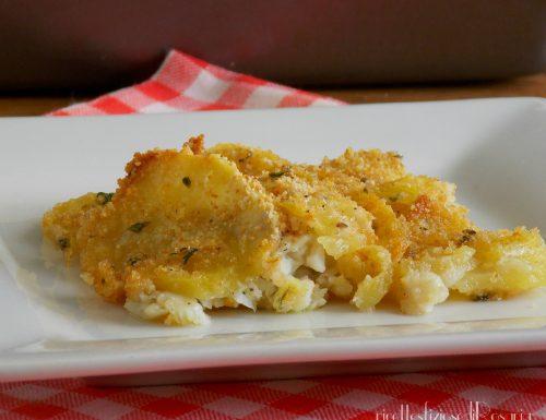 Filetti di passera con patate sabbiose